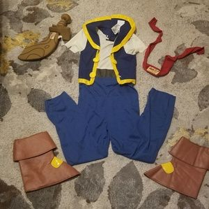 Little boys Jake and the Neverland Pirates costume